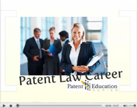 Patent Law Career Video